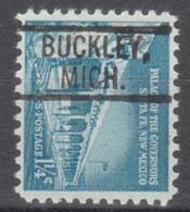 USA Precancel Vorausentwertung Preo, Locals Michigan, Buckley 802 - Vorausentwertungen