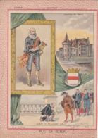 """Ce Ci N Est Pas Un Protège Cahier Mais Une Couverture De Cahier D'écolier (18x22) 2 Pages  """"Duc De Sully"""" - Book Covers"""
