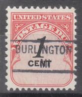 USA Precancel Vorausentwertung Preo, Locals Michigan, Burlington 841 - Vorausentwertungen