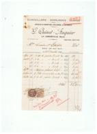 QUINCAILLERIE SERRURERIE POMPES  G. QUINET - AUQUIER à LA LONGUEVILLE (NORD) 1936 - Francia