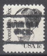 USA Precancel Vorausentwertung Preo, Locals Michigan, Burr Oak 703 - Vorausentwertungen