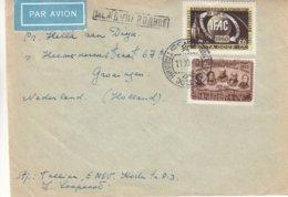 Russie - Estonie - Lettre De 1950 - Oblit Tallinn - Congrès IFAC - - 1923-1991 USSR