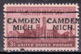 USA Precancel Vorausentwertung Preo, Locals Michigan, Camden 701 - Vorausentwertungen