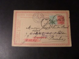 Carte Postale (hôpital Militaire) - Cachets Léopoldburg/Bourg Léopold 9-10  23 I 1921, Wemmel 11-12   22 I  1921 - 1915-1920 Alberto I