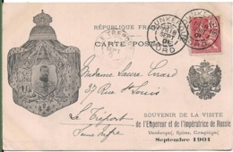 Souvenir De La Visite De L' Empereur Et L' Impératrice De RUSSIE DUNKERQUE REIMS COMPIEGNE En 1901 - People