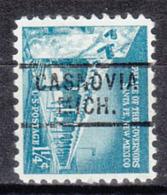 USA Precancel Vorausentwertung Preo, Locals Michigan, Casnovia 729 - Vorausentwertungen
