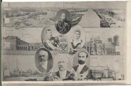 Souvenir De La Visite De L' Empereur Et L' Impératrice De RUSSIE DUNKERQUE REIMS PARIS En 1901.NICOLAS II - People