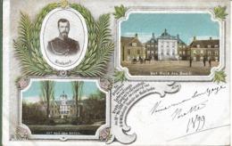 NICOLAS II.Het Huis Ten Bosch.Ter  Sedachtenis Aan Het.Internationale Vrede Congres Te S' Gravenhage 1899 - Den Haag ('s-Gravenhage)