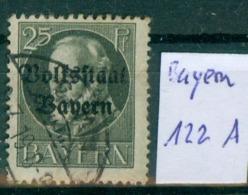 Bayern  MiNr. 122 II A      O / Used  (L1000) - Bavaria