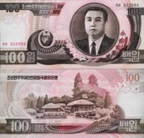 North Korea 1992 - 100 Won - Pick 43 UNC - Korea, Noord