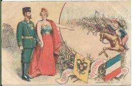 REIMS Septembre 1901.Le Tsar Et La Tsarine NICOLAS II - Reims