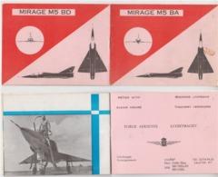 Force Aérienne  Carnet Présentation Mirage M5 BA - Aviation