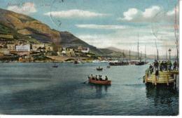 Monaco Monte Carlo Le Port En 1910 Bateau à Roue à Vapeur Barque Voilier VOIR ZOOM Ponton Chargé - Monte-Carlo