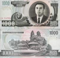 North Korea 2006 - 1000 Won - Pick 45b UNC - Korea, Noord