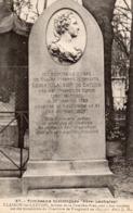 CP 75 Paris Cimetière Père Lachaise Clairon De Latude Tombeaux Historiques 47 JH Vagne - Other Monuments