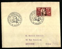1487 - Fontenelle - EXPOSITION SCIENCES ET PHILATELIE - ROUEN - 1966 - Postmark Collection (Covers)
