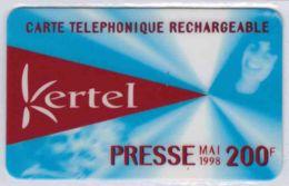 TOP COLLECTION  - Carte Prépayée Française - KERTEL - Voir Scans - France