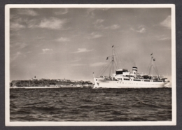 95888/ NAVIRES A PASSAGERS, Bateau De Croisière MS *Königin Luise* De La Compagnie HAPAG Devant Helgoland - Ferries