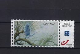 Duostamp Buzin MPO 2014 Birds MNH ** POSTFRIS ZONDER SCHARNIER  SUPERBE - Belgique