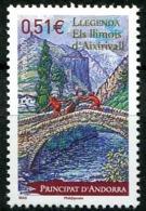 Andorre, N° 669** Y Et T - Nuevos