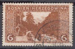 Austria Occupation Of Bosnia 1906 Mi#33 E - Perforation 13 1/2, Used - Usados