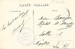 44- Cachet Hôpital De Clisson (HB N°42 Bis) Sur CP En 14/18 - Guerra De 1914-18