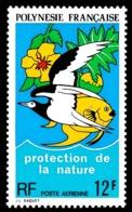 POLYNESIE 1973 - Yv. PA 82 *   Cote= 10,50 EUR - Protection De La Nature  ..Réf.POL24395 - Poste Aérienne
