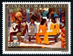 POLYNESIE 1973 - Yv. PA 75 *   Cote= 32,00 EUR - Ta Matete', Tableau De Gauguin  ..Réf.POL24392 - Poste Aérienne