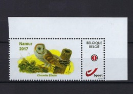 Duostamp Buzin Namur 2017 Owl Birds MNH ** POSTFRIS ZONDER SCHARNIER  SUPERBE - Belgique