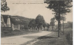PONTARLIER, Le Défilé De La Cluse, Forts Et Monument  - . Ed Ch Simon 649 - Pontarlier