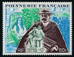 POLYNESIE 1973 - Yv. PA 76 ** SUP  Cote= 46,00 EUR - Pierre Loti  ..Réf.POL24393 - Poste Aérienne