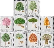 San Marino 1188-1197 (kompl.Ausg.) Postfrisch 1979 Umweltschutz - San Marino