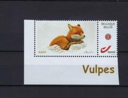 Duostamp Buzin A.B.C.P. Fox Vulpes Vos MNH ** POSTFRIS ZONDER SCHARNIER  SUPERBE - Belgique