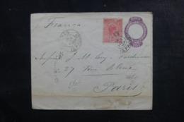 BRÉSIL - Entier Postal + Complément Pour Paris En 1904 - L 44515 - Postwaardestukken