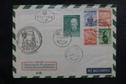 AUTRICHE - Entier Postal + Complément Par Ballon En 1959, Cachets Plaisants - L 44516 - Ballonpost