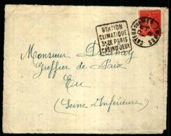 Obiltération Daguin Avec Publicité Touristique - Cayeux Sur Mer - Somme - Marcofilie (Brieven)