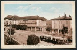 Malbuisson - Hôtel Du Lac - Autorail - Edit. & Cliché Karrer - Autres Communes