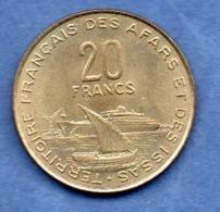 Affars Et Issas -  20 Francs 1975  -  état  SUP+ - Colonias