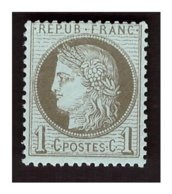 Timbre N° 50 Neuf ** - 1871-1875 Ceres