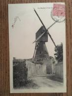 Cpa, Un Moulin à Vent Du Mirebalais, Vienne, 86, écrite En 1905?, J.Robuchon Photo Poitiers - Frankreich