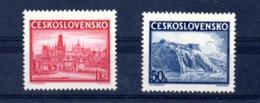 1938 Expo Bratislava Y 342A-B** Mi 398-399** - Unused Stamps