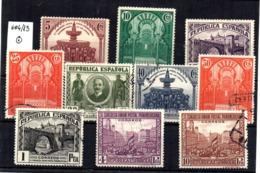 Serie Nº 604/13  España- - 1931-Hoy: 2ª República - ... Juan Carlos I