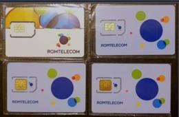 Romania - Romtelecom Sim Cards Set - Roumanie
