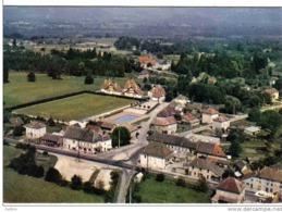 Carte Postale   38.  Corbelin Stade De Football Quartier De La Piscine  Vue Aérienne - Corbelin