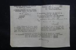 MILITARIA - Document De L 'Armée Belge En 1923 Pour Un Militaire Démobilisé Ayant Fait à La Guerre De 14/18 - L 44528 - Documents