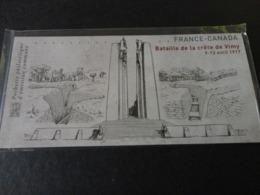TIMBRE DE FRANCE EMISSION COMMUNE FRANCE CANADA  SOUS BLISTER - Postdokumente