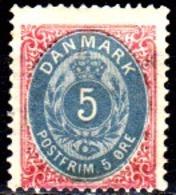 Danimarca-F0118 - Emissione 1875-1903 (+) Hinged - Senza Difetti Occulti. - Nuovi