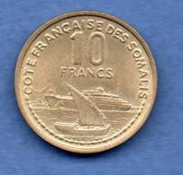 Côtes Des Somalis  -  20 Francs 1965   -  état  SUP - Colonias