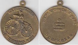 VOLKSRAFAREN  TRERKURBELRAD  A 1868 - Duitsland