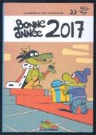 Ex Libris Bonne Année - La Ribambulle 2017 (Thomas Priou D'après Peyo) - Ex-libris